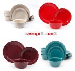 ceramic dinnerware set 12 24 piece white