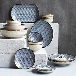 Ceramic Dinnerware Set Plate and Bowl sets - Dishwasher & Mi