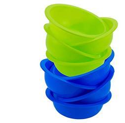 DecorRack Set of 8 Cereal Bowls, Soup Bowl for Salad, Fruit,