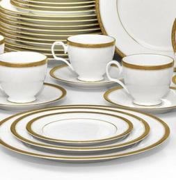 Noritake Charlotta Gold 60-piece Dinnerware Value Set Servic