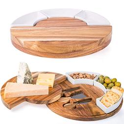 Shanik Cheese Cutting Board Set - Charcuterie Board Set and