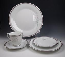 Noritake China MALVERNE-3501 5 Piece Place Setting EXCELLENT