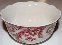 222 Fifth Christmas Lane Soup/Cereal/Salad Bowls with Design