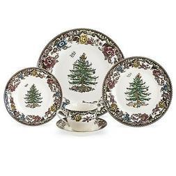 Spode Christmas Tree Grove Dinnerware - Single 5-Pc Place Se