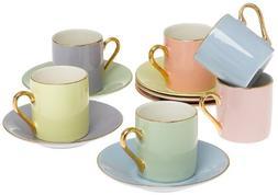 Classic Espresso Coffee Cups & Saucers  by Yedi Houseware|Pr