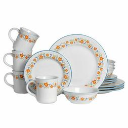 Pfaltzgraff Colebrook 16 Piece Dinnerware Set, Service for 4