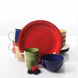 Gibson Color Vibes Round 12 Pc. Dinnerware Set