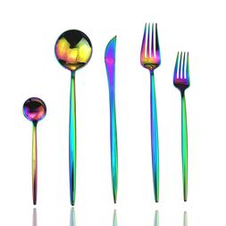 Colorful Plated Multicolor <font><b>Dinnerware</b></font> St