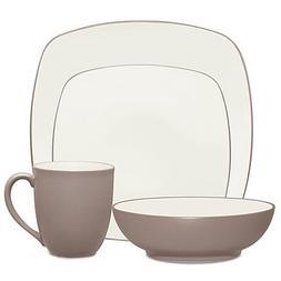 Noritake Colorwave Square Simple Chic Dinnerware Dishwasher