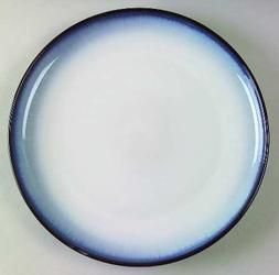 "One Sango Concepts-Eggplant Salad Plate 8 1/4"" D Blue Shade"
