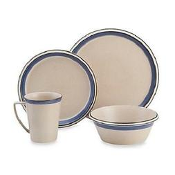 Mikasa Concord Cobalt 4-Piece Place Setting, Service for 1