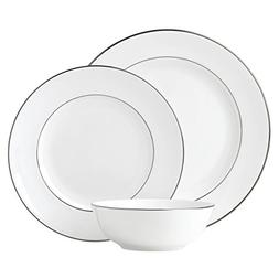 Lenox Continental Dining Platinum 3 Piece Place Setting dinn