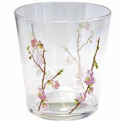 Corelle Coordinates Cherry Blossom Acrylic Rock Glasses, 14-