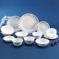 Corelle Coordinates Tree Bird Dinnerware Set of 14-Piece Dis