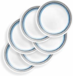 Corelle Chip Resistant Dinnerware Set, 6-Piece, Elemental Da