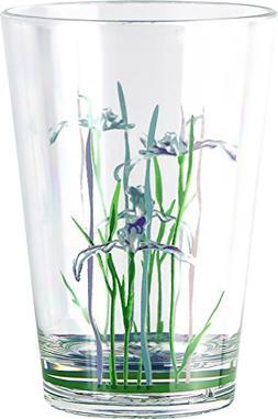 Corelle Coordinates Shadow Iris 8-Ounce Acrylic Glass, Set o