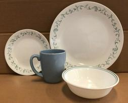 Corelle Livingware Country Cottage 16-Piece Durable Dinnerwa