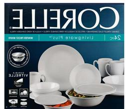 World Kitchen Corelle Serve and Save 24 Piece Dinnerware Set