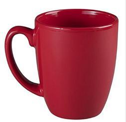 Corelle Livingware 11 oz Stoneware Mug, Berry, Set of 4