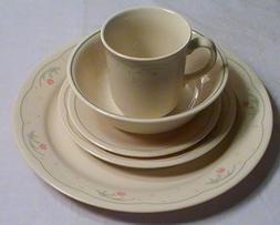 Corning Corelle Calico Rose Dinnerware - Set of 20 Pcs.