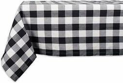 DII Cotton Buffalo Check Plaid Rectangle Tablecloth for Fami