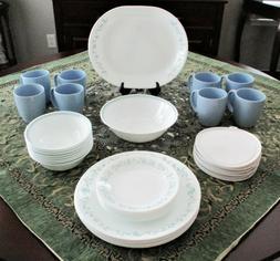 Corelle Country Cottage 42 Piece Dinnerware Set - Service fo