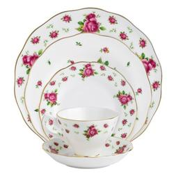 Royal Albert New Country Roses White Vintage Formal Place Se