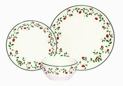 Melange Coupe 18-Piece Porcelain Dinnerware Set  | Service