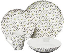 Melange Coupe 32-Piece Porcelain Dinnerware Set  | Service f