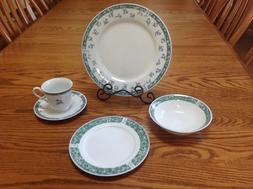 Coventry Blue by Citation porcelain dinnerware, service for