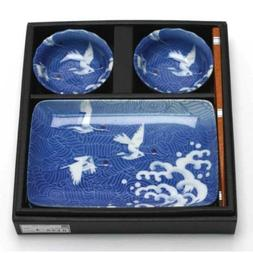 Cranes 6 Piece Dinnerware Set