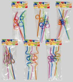 Crazy Shapes Straws- 4 Pack Case Pack 48 Home Kitchen Furnit