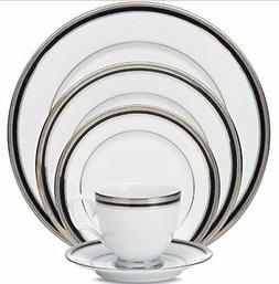 Noritake Crestwood Austin Platinum 50-pc Dinnerware Set Serv