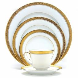 Noritake Crestwood Gold 50-piece Dinnerware Service for 8 wi