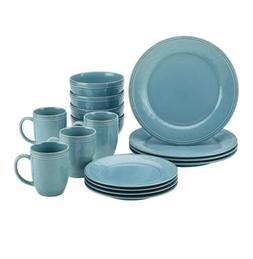 Rachael Ray Cucina Dinnerware 16-Piece Stoneware Dinnerware