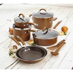 Rachael Ray Cucina Hard Porcelain Enamel Nonstick Cookware S