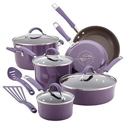 Rachael Ray® Cucina 12-pc. Lavender Cookware Set