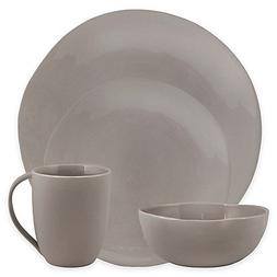 Artisanal Kitchen Supply Curve 16-Piece Dinnerware Set in Gr