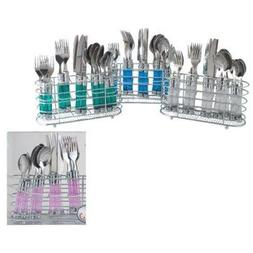 20 Piece Cutlery Set In Chrome Holder Case Pack 12 Home Kitc