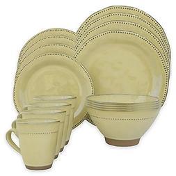 Sango Cyprus 16-Piece Dinnerware Set in Beige