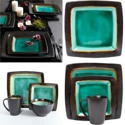 Decorative Ceramic Dinnerware Set Microwave Safe Kitchen Din