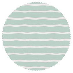 iPrint Decorative Round Tablecloth  Fabric Home Set