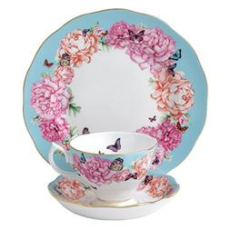 Royal Albert Devotion 3-Piece Teacup, Saucer and Plate Set D