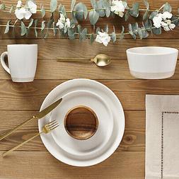 Safdie & Co. Dinnerset Premium Dinnerware Set Cream