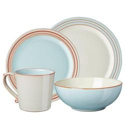 Denby Dinnerware, Azure Coast 4-Piece Place Setting