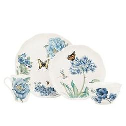 Lenox Dinnerware, Butterfly Meadow Blue 4 Piece Place Settin