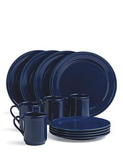Dinnerware Set 12 pc, Holiday set for 4 persons, Good Taste
