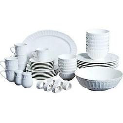 Dinnerware Set Gibson Home Regalia 46-Piece and Serveware  S