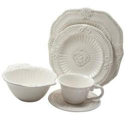 Dinnerware Set Baroque, Multi-Purpose and Dishwasher Safe, W