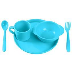 Childrens Dinnerware Set 5 Pieces Yehua Baby Toddler